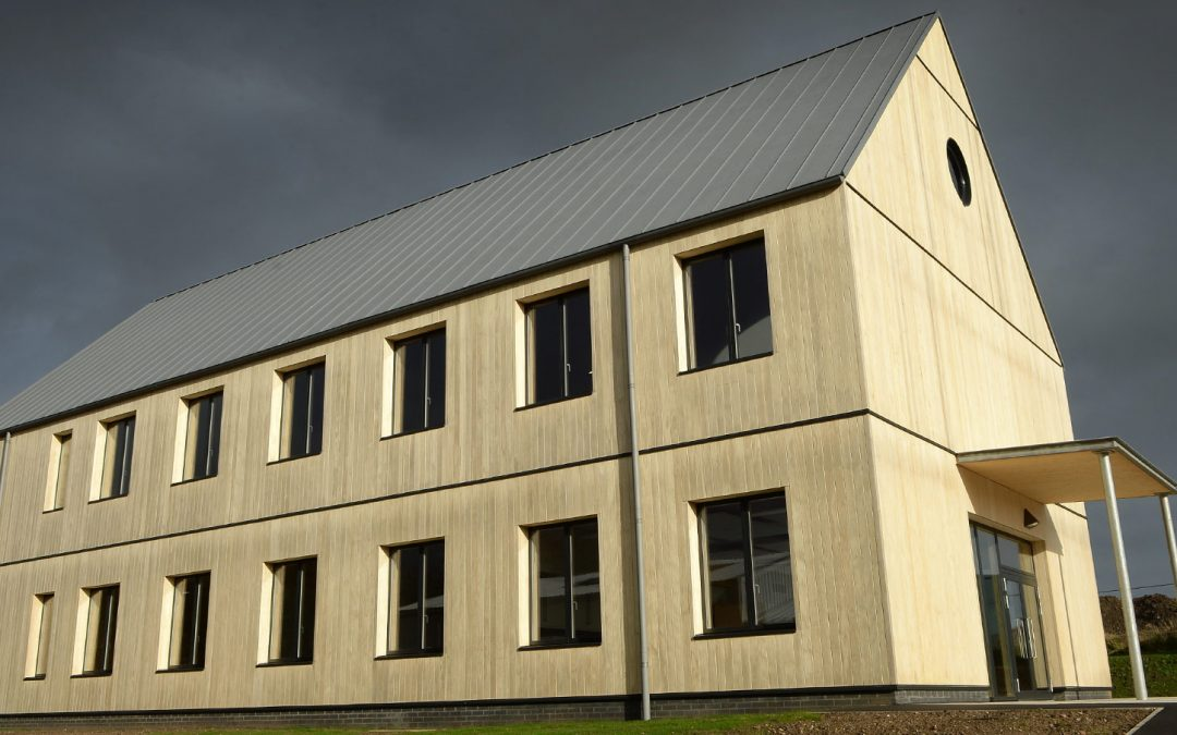 Our timber project Christies Care opens to a warm reception