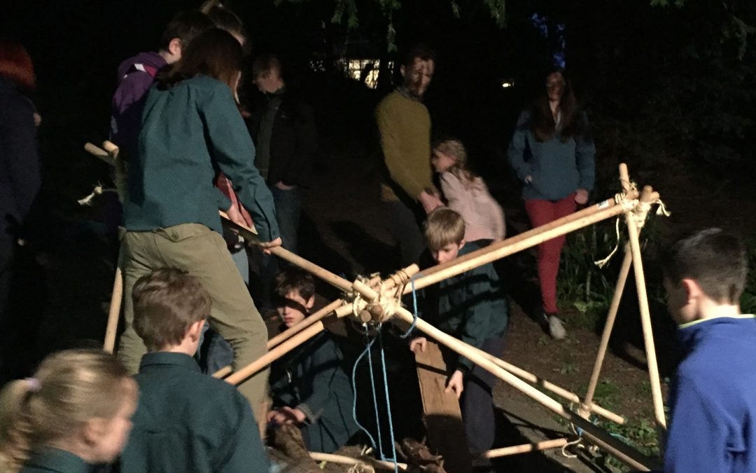 Volunteering for the Scouts Pioneering Badge