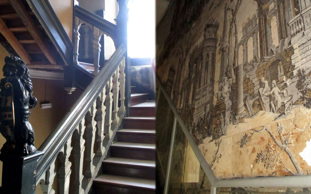 Strengthening a Grade I listed staircase
