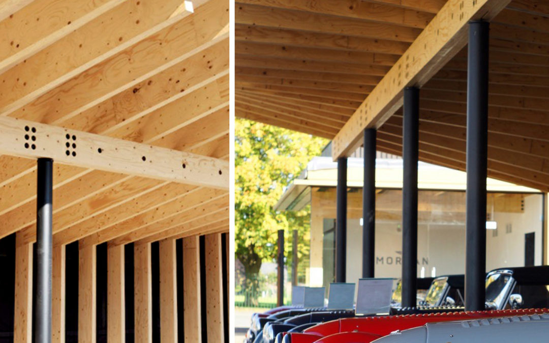 Timber Experience Centre for Morgan Motor Company now open