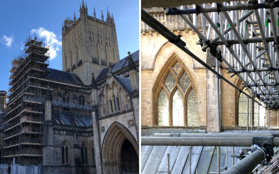 Wells Cathedral: repair and restoration continues